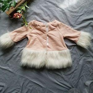 *Bundle 3/15$* Tahari Baby Fuzzy Coat